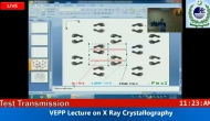 VEPP Online Lecture on X Ray Crystallography 4/22/2016