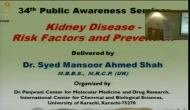34th Public Awareness Seminar on Kidney and Disease