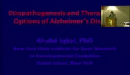 VEPP online Lecture on Etiopathogenesis and Therapeutic Options of Alzheimer's Disease