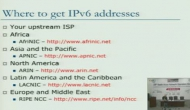 IPV6 Transition Strategies Day 3