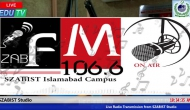Live radio SZABIST Transmission part 2