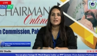 Chairman Online on topic Interim Placement of Fresh PhD 2019